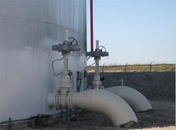 Rotork IQ actuators installed on MMLP tank farm at the Port of Corpus Christi, Texas.