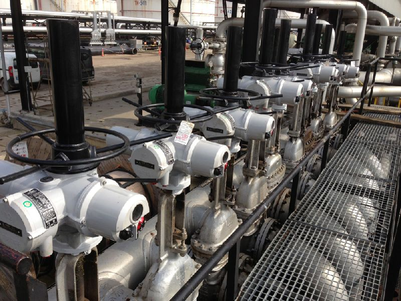 IQ actuators on Tupras Izmit Refinery.