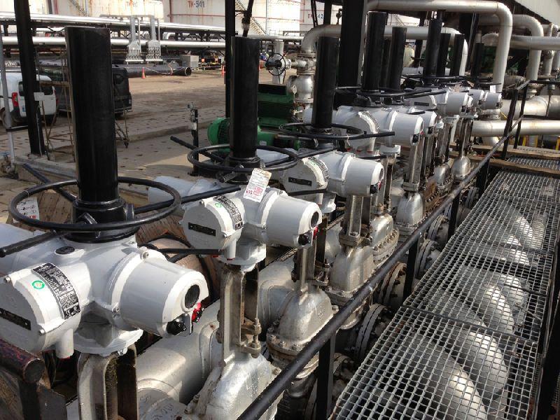 Tupras社のIzmit製油所に設置したIQアクチュエータ
