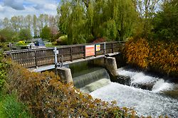 Buscot Weir prior to the upgrade.