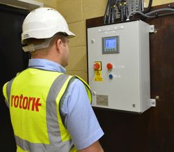 The new actuators are controlled by the PLC cabinet which is interfaced with the telemetry system.