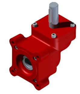 Gearboxes provide 90 degree shaft direction change