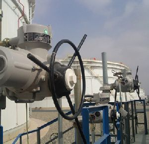 Two sites, four million cubic metres of oil, four hundred and sixty-nine Rotork actuators