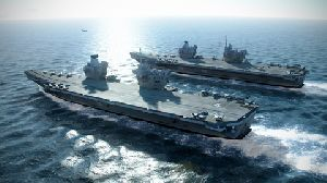 Rotork actuators on the Royal Navy's new aircraft carriers