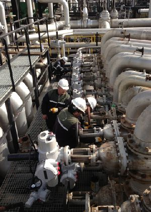 Retrofit upgrade at Turkey's largest refinery chooses Rotork valve automation