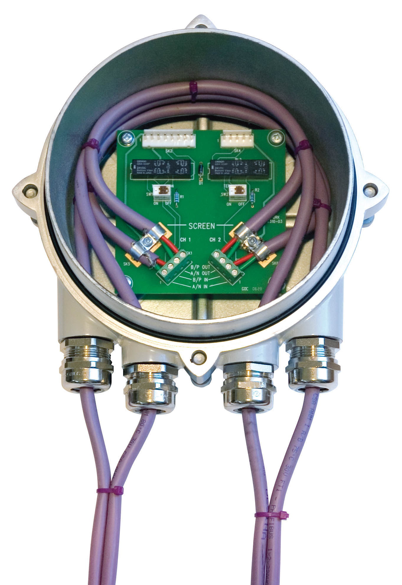Cool Rotork Rotork Introduces Bumpless Profibus Highway Termination Module Wiring Digital Resources Sulfshebarightsorg