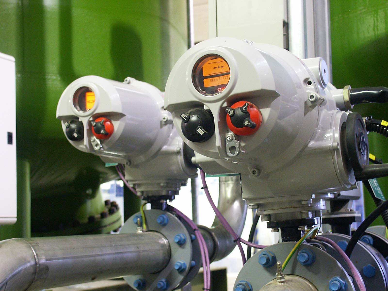Rotork actuators help to increase the water supply in Essex