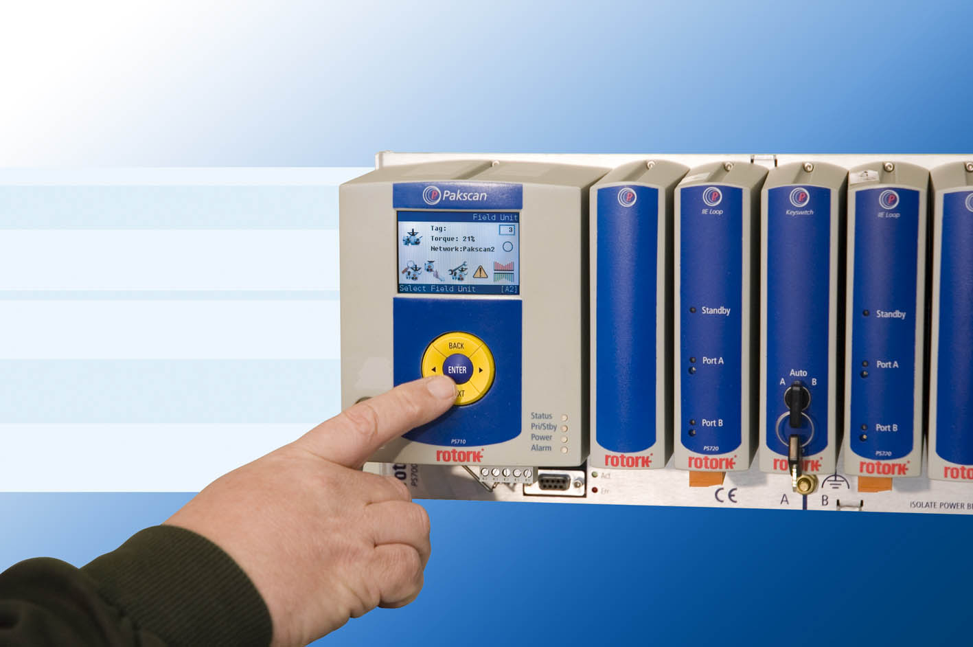Rotork launches Pakscan P3 digital control for valve actuators