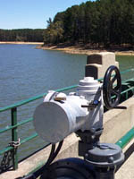 Rotork Australia in spillway upgrade at Lauriston Reservoir