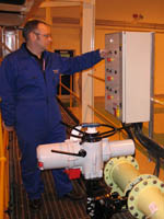 Power Station maintenance contract introduces valve actuator training rig