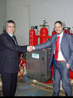 High speed actuator deliveries help to get the gas moving in Egypt
