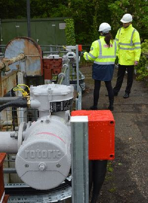 Rotork Site Services contributes to improved efficiency for Thames Water