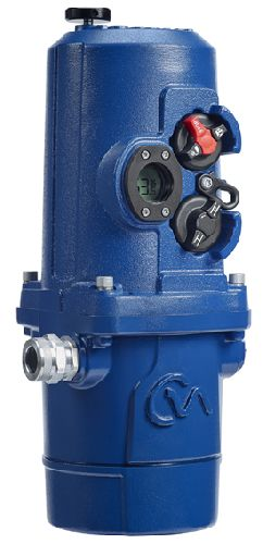 Enhanced functionality for Rotork CMA boosts electric process valve control
