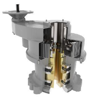 Зубчатые редукторы Rotork с увеличенным осевым усилием