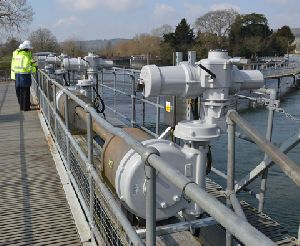 Switch to Rotork eliminates trauma of unreliability on River Thames weir
