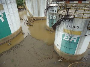 Rotork actuators survive three months submersion during disastrous flood