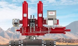 Rotork Electronic Line Break (ELB) combines pipeline pressure monitoring with intelligent valve control