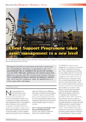 Client Support Programme takes asset management to a new level