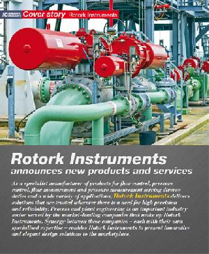 Rotork Instruments announces new products and services