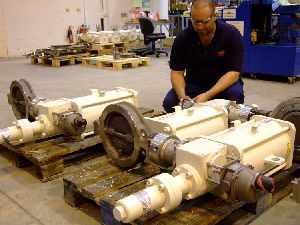 Electric, pneumatic and hydraulic actuators for North Sea floating production unit