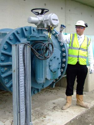 Rotork's intelligent valve actuators in high-tech environmental upgrade