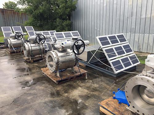 ソーラー電源のロトルク電動アクチュエータ、米国のシェール油田パイプラインで利用される