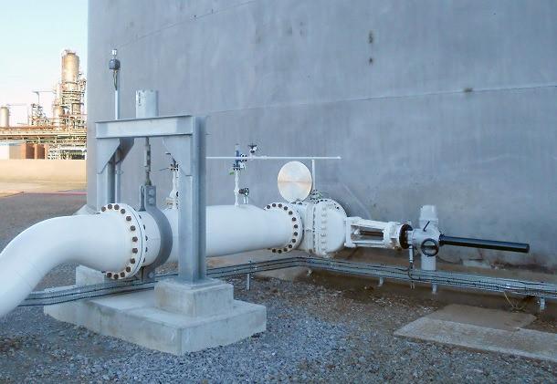 Повышение функциональности беспроводного оборудования в центре хранения сырой нефти в Великобритании с помощью интеллектульных приводов  Rotork.