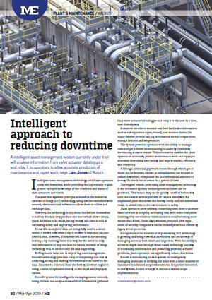 Intelligent approach to reducing downtime