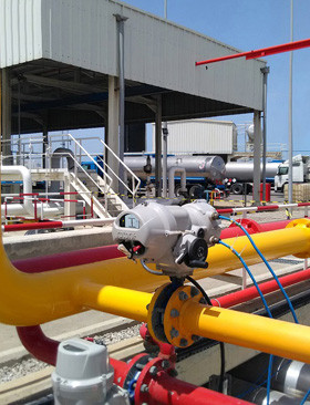 Rotork selected for strategic tank farm automation