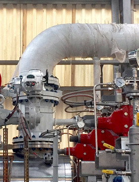 Rotork actuators used for precise oil and gas flow control on a Brazilian FPSO vessel