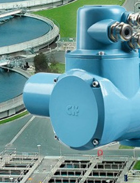Rotork CK actuators ordered for major effluent treatment upgrade in Turkey