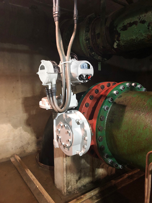 Rotork electric actuators installed to upgrade Chicago water purification plant