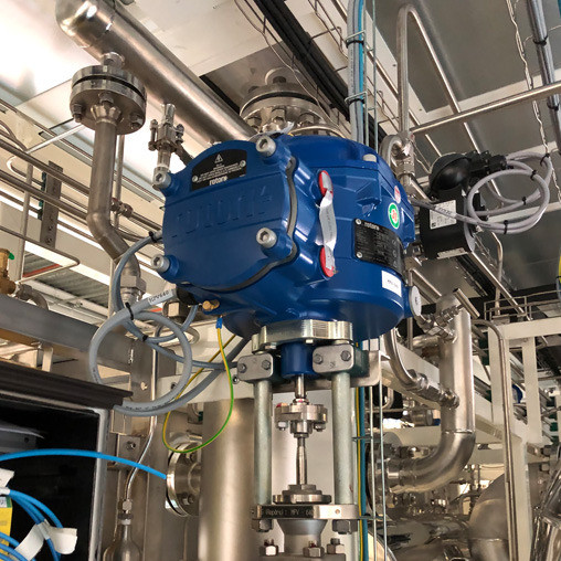 Rotork aids production of carbon-free hydrogen with CVL actuators on electrolysis skids