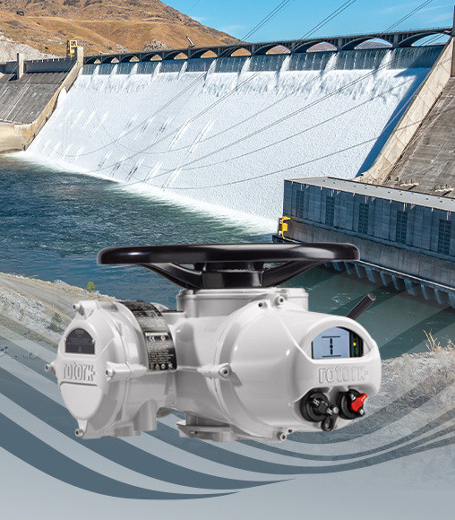 Rotork IQ actuators control water at Grand Coulee Dam in Washington State, USA