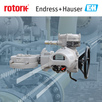 Rotork joins Endress+Hauser Open Integration partner program