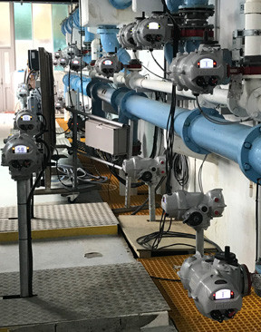 Rotork provide electric actuation technology at New Zealand water treatment plants