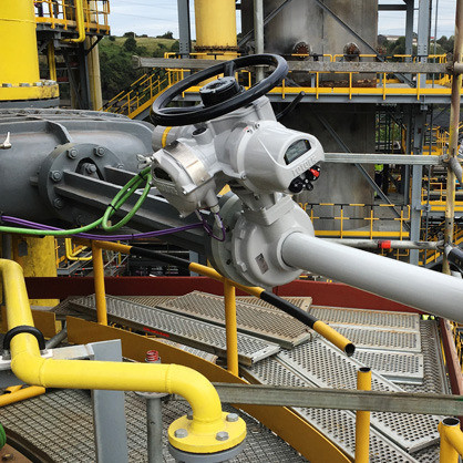 Rotork fluid power and electric actuators installed at modernised Spanish coking plant