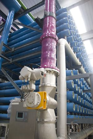 State-of-the-art valve control for desalination plant