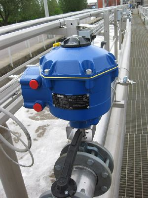 CVA provides electrically actuated solution for automated sewage treatment control valves