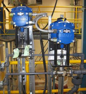 Rotork CVA actuator introduced to solve dosing pump wear problem at water treatment plants