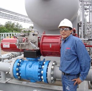 Actuators for Bolivian gas plant are Safety Integrity Level 2 (SIL2) certified