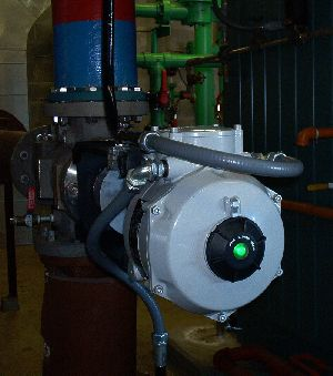 CVA actuator  facilitates improved control valve operation in the water  treatment industries