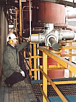 Gas plant ATEX valve upgrade performance