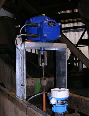 Precise CVA valve control assists efficient mineral grading
