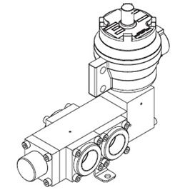 1650 Series Pilot Solenoid Operated Spring Return