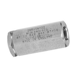 "Clapets antiretour de 1/4"" à 1/2"" NPT (27 bar)"