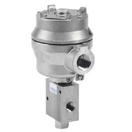 1/4, 3/8, 1/2 inch Direct Acting Solenoid Operated with Manual Reset