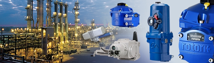 Rotork Process Controls Product Collage