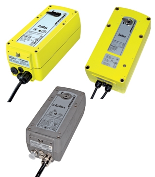 ExMax Range electric quarter-turn explosionproof actuators