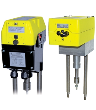 ExRun/ExLin Range linear explosionproof actuators